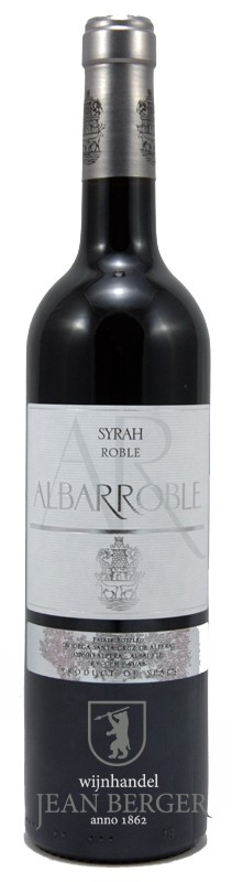 Albarroble Syrah Roble, Bodega Santa Cruz de Alpera