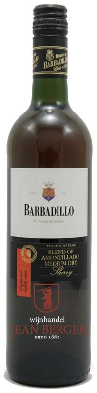 Amontillado Medium Dry Sherry, Barbadillo
