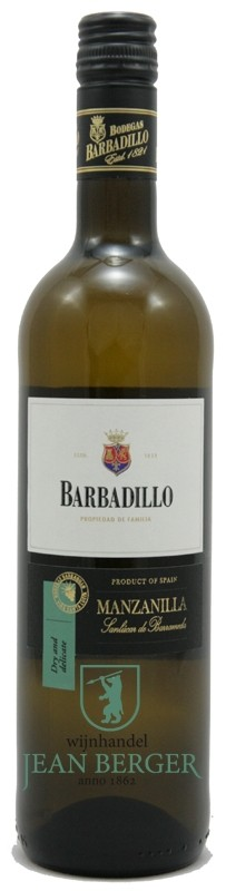 Manzanilla Sherry (dry and delicate), Barbadillo