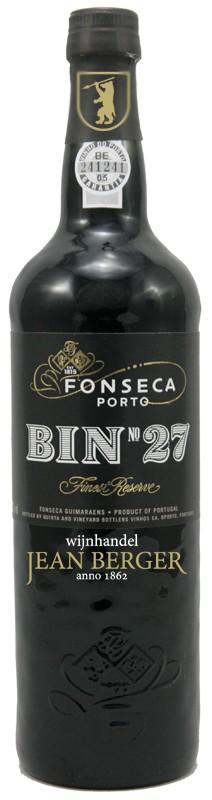Fonseca Bin 27, Finest Reserve Port