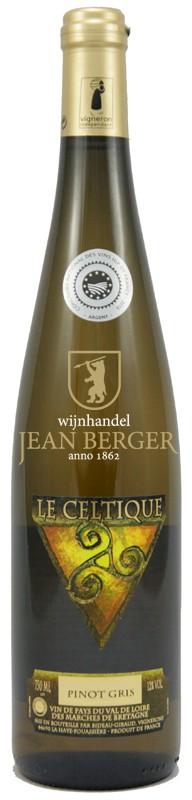 Le Celtique Pinot Gris, Vin de Pays, Bideau-Giraud