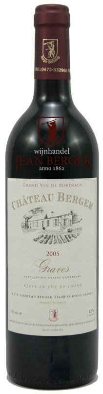 Château Berger 2005, Graves rouge