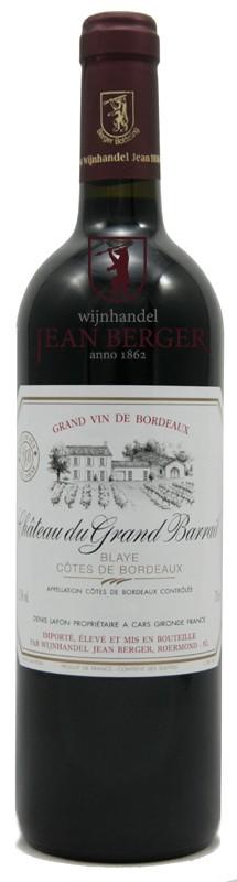 Château du Grand Barrail, Blaye-Côtes de Bordeaux