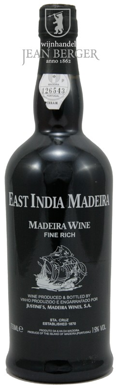 East India Madeira, Fine Rich 3 years old, Justino's