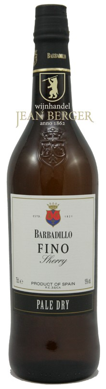 Fino Pale Dry Sherry, Barbadillo