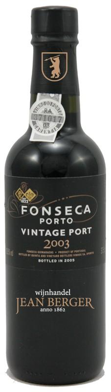 Fonseca Vintage 2003 Port, 1/2 fles
