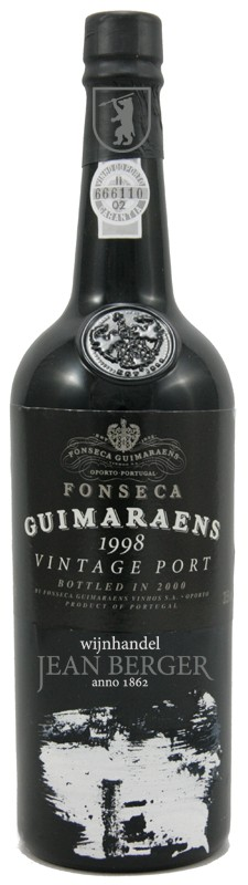 Fonseca, Guimaraens Vintage 1998 Port