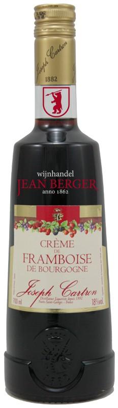 Crème de Framboise de Bourgogne, Joseph Cartron