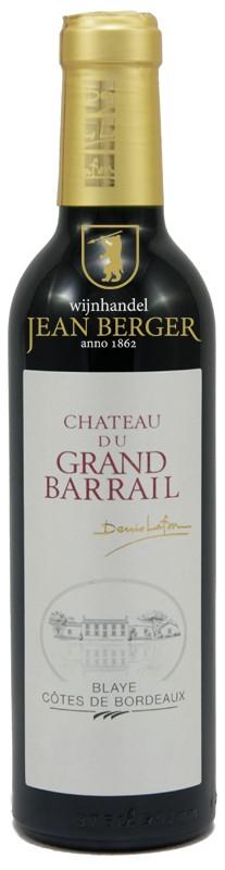 """Château du Grand Barrail """"Cuvée Traditionelle"""", Blaye-Côtes de Bordeaux, 1/2 fles"""
