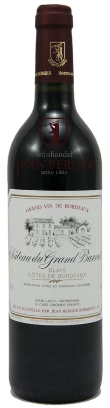 """Château du Grand Barrail """"Fût de Chêne"""", Blaye-Côtes de Bordeaux, magnum (1,5 liter)"""
