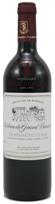 """Château du Grand Barrail """"Fût de Chêne"""", 1-ères Côtes de Blaye"""