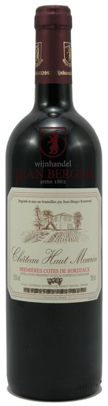 Château Haut Maurin, Premières Côtes de Bordeaux