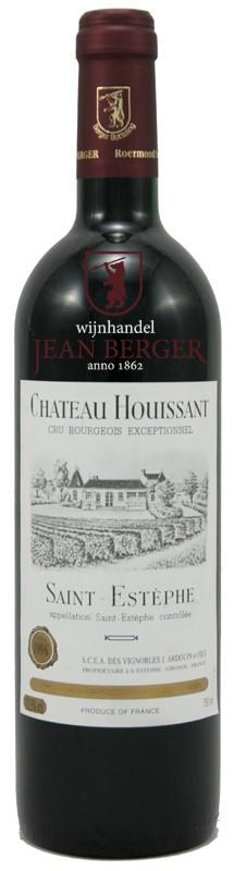 Château Houissant 1996, Cru Bourgeois, Saint-Estèphe