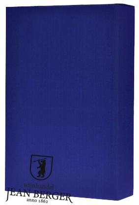 Sierdoos Golfkarton Blauw (3-flessen)