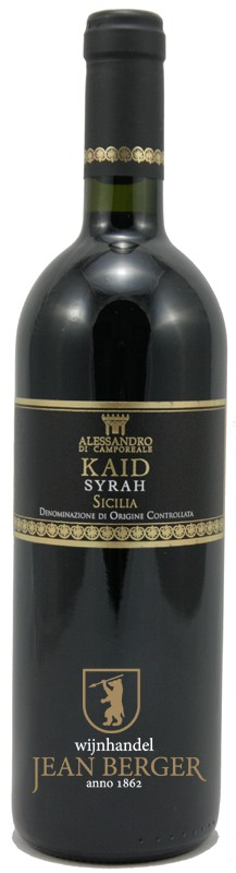 "Kaid ""Syrah"", d.o.c. Sicilia, Alessandro di Camporeale"