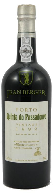 "Niepoort Vintage 1992 ""Quinta do Passadouro"" Port, 1/2 fles"