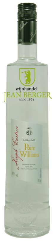 Poire Williams, Eau de Vie, Joseph Cartron