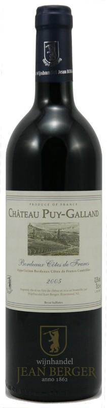 Château Puy-Galland 2005, Bordeaux-Côtes de Francs