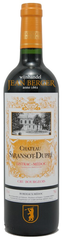 Château Saransot-Dupré, Listrac Cru Bourgeois