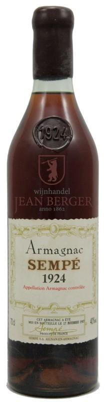 Armagnac 1924, Sempé