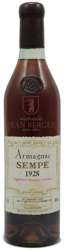 Armagnac 1928, Sempé