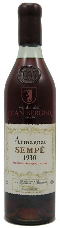 Armagnac 1930, Sempé