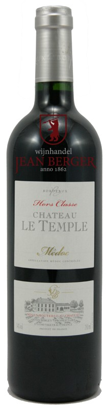 """Château Le Temple 2012 """"Hors Classe"""", Médoc"""
