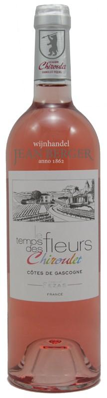 """Domaine Chiroulet """"le Temps des Fleurs"""" Rosé, Côtes de Gascogne"""