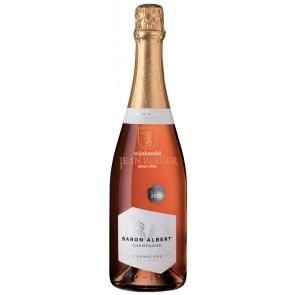Champagne Baron Albert, L'Émancipée Brut, Rosé de Saignée 2015