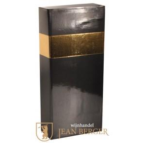 Sierdoos zwart/goud (2-fles)